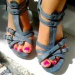 Baťa – remienkové kožené sandále