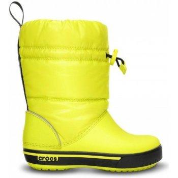 Detské športové snehule Crocs Crocband Iridescent Gust Boot – Obuv ... df53b4e245c